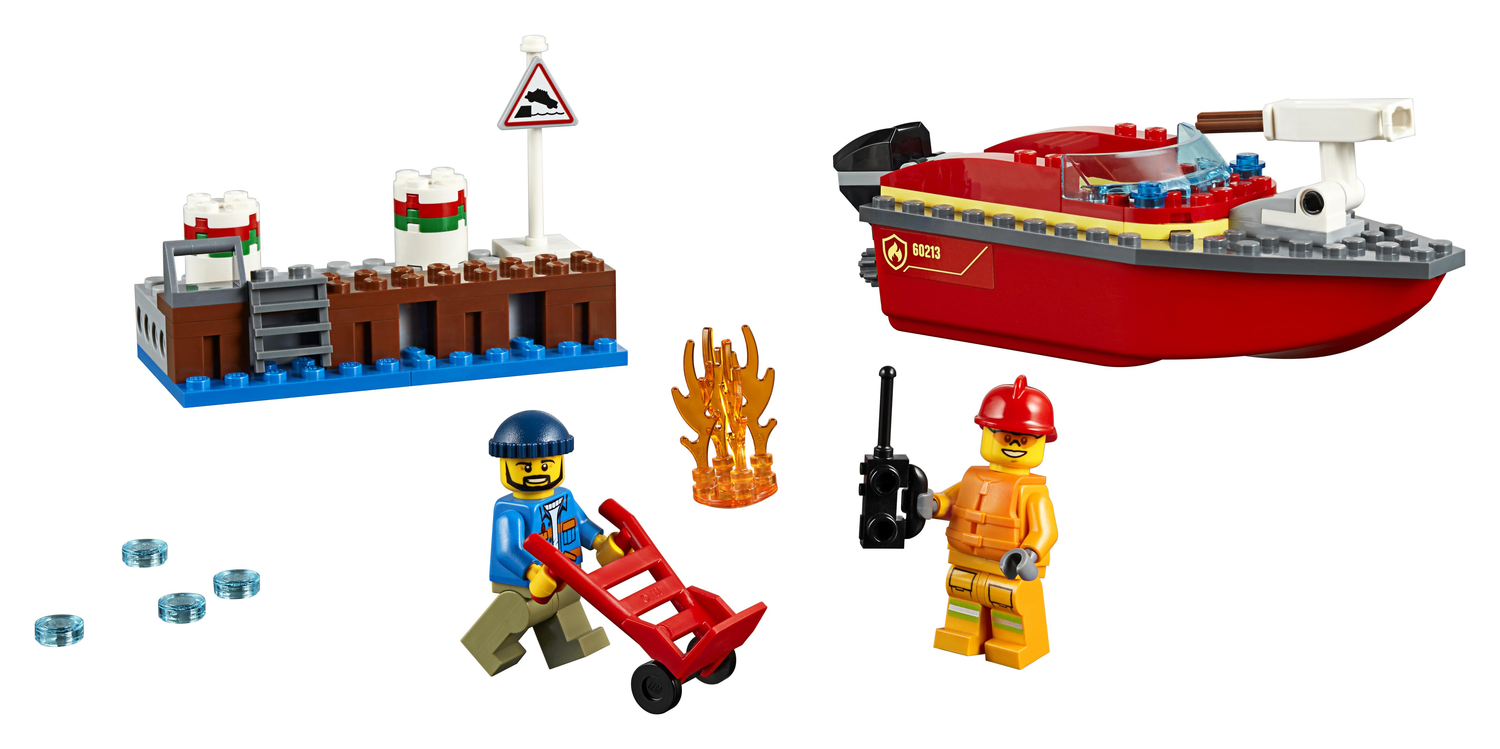 LEGO City - Dock Side Fire (60213)