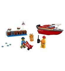 LEGO City - Dock Side Fire (60213)
