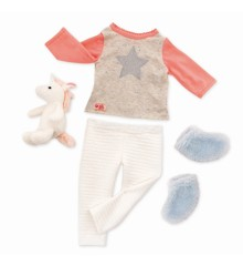 Our Generation - Dolls Clothing - Unicorn Wishes Pyjamas Outfit (730311)