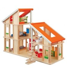 PlanToys - Chalet Dollhouse with Furniture (7141)