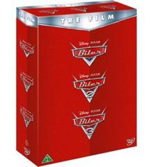 Disney Pixar: Biler 1-3 - DVD
