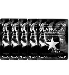 GlamGlow - 5x Bubblesheet Oxygenating Deep Cleanse Mask