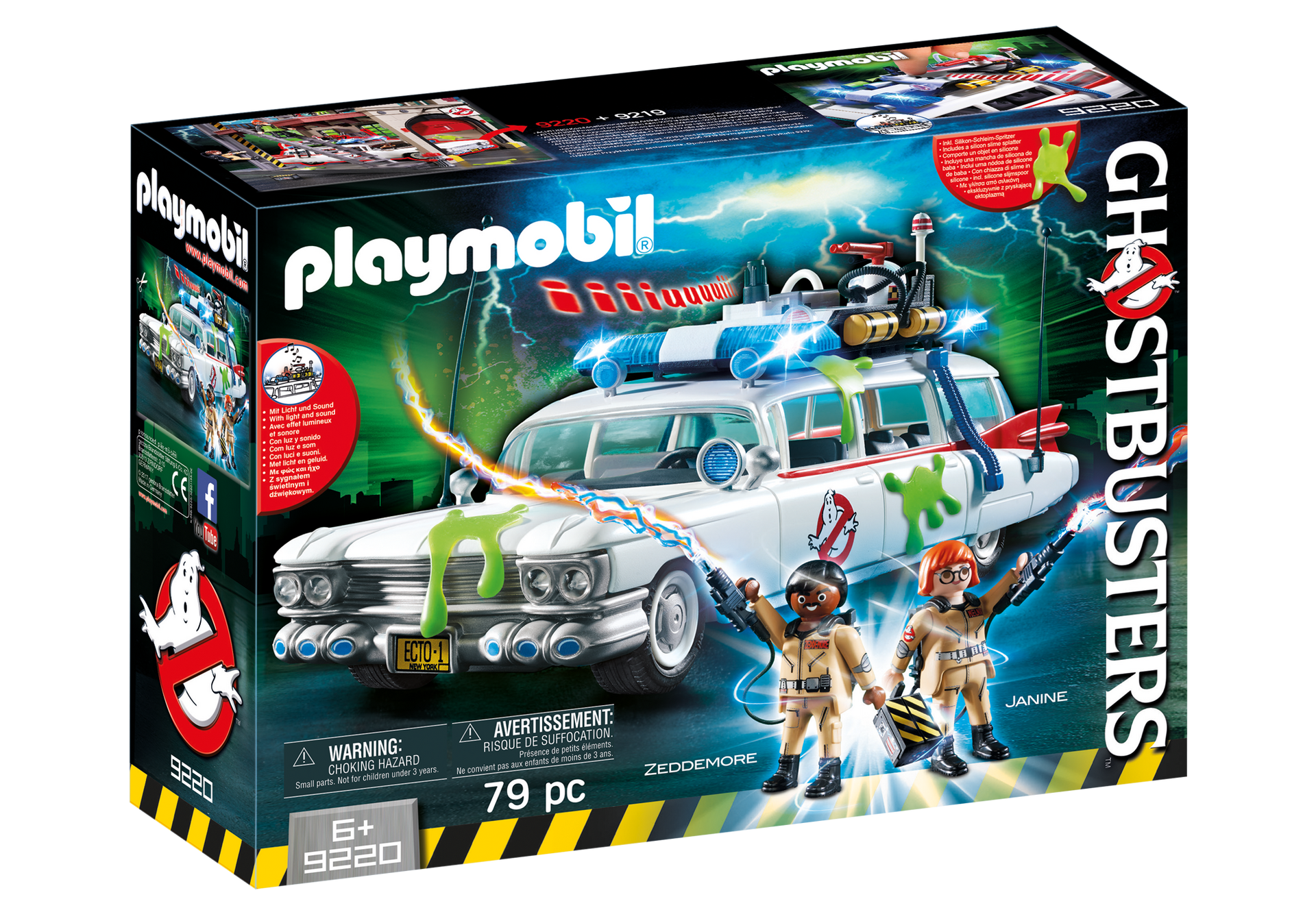 Playmobil - Ghostbusters - Ecto-1 (9220)