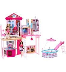 Barbie - House w/Furniture & Accessories (FCK15)