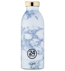 24 Bottles - Clima Bottle 0,5 L - White Marble (24B161)