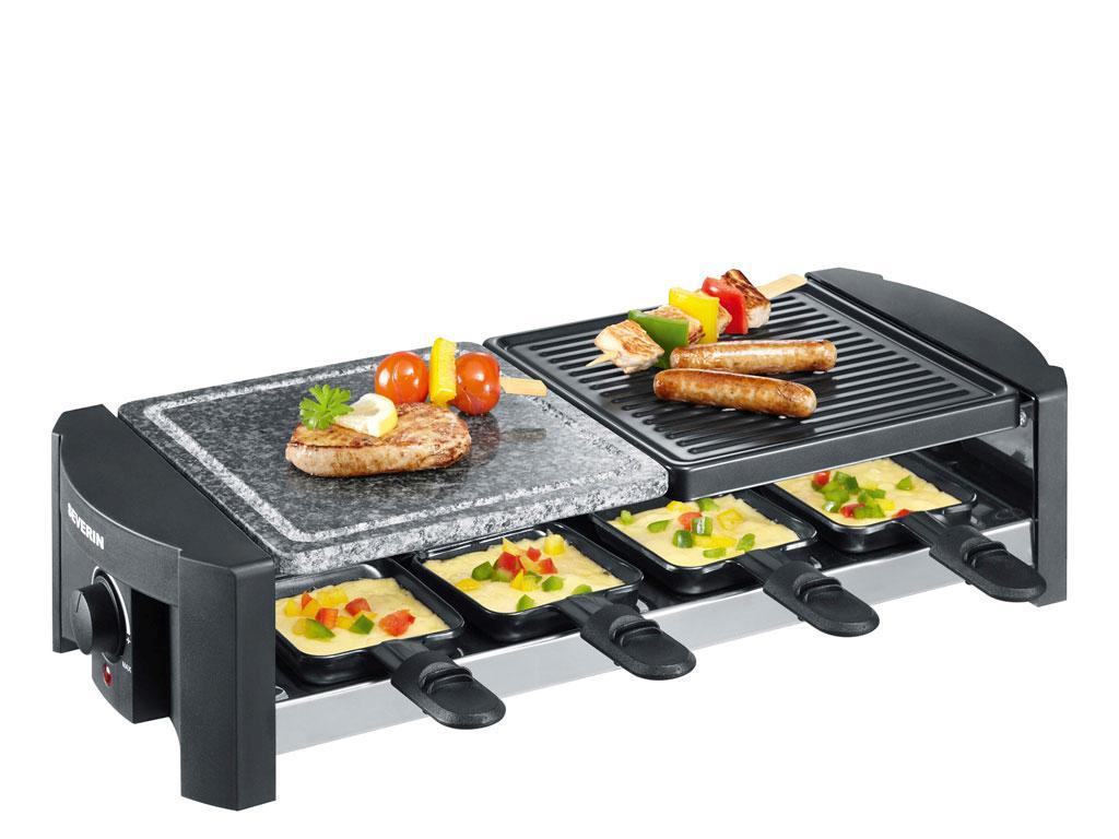 Severin - Raclette RG 2683/RG 9645 1400 Watt - Black (494062)
