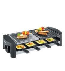 Severin - Raclette RG 2683/RG 9645 1400 Watt - Sort