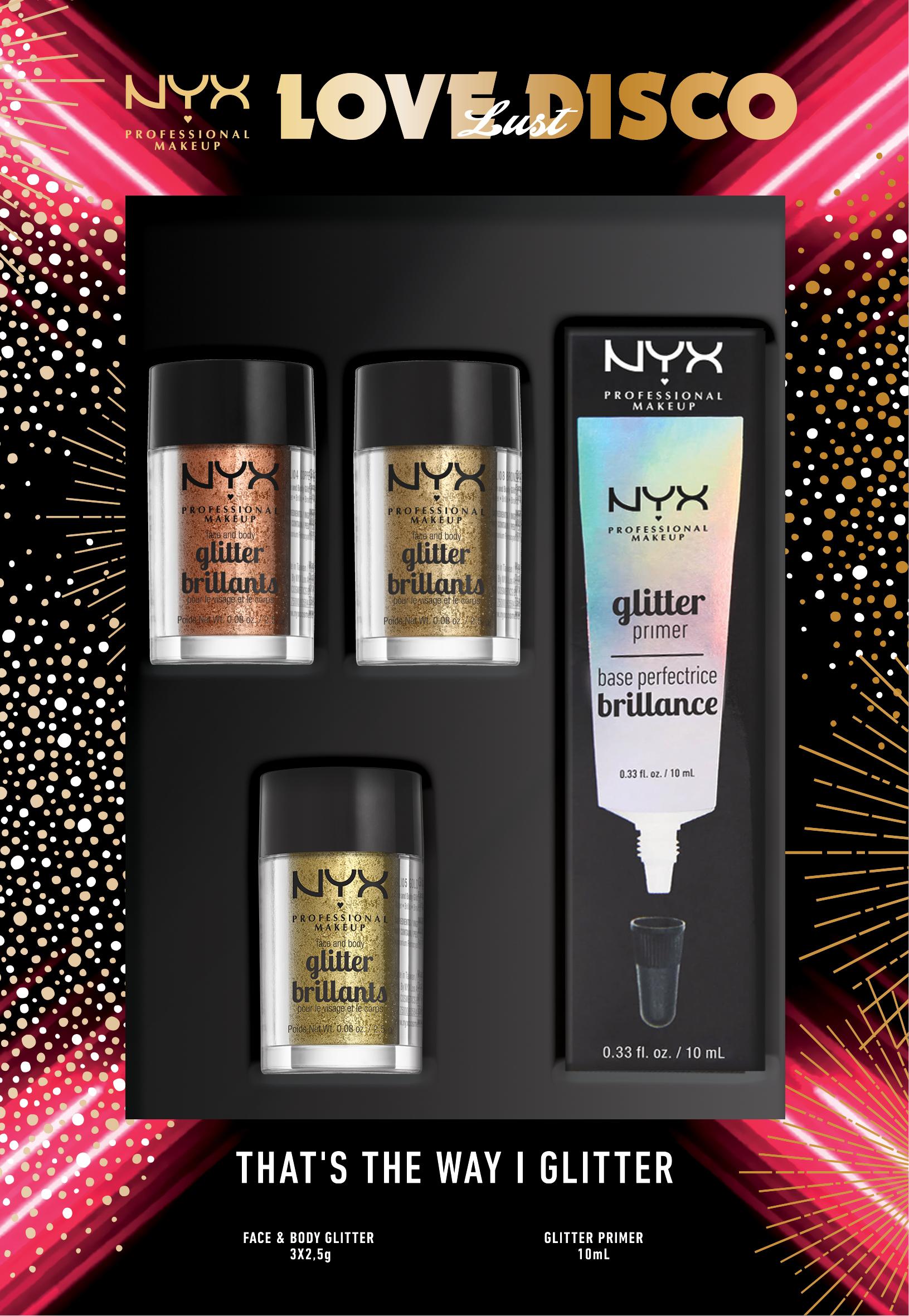 NYX Professional Makeup - Glitter Set - Lust
