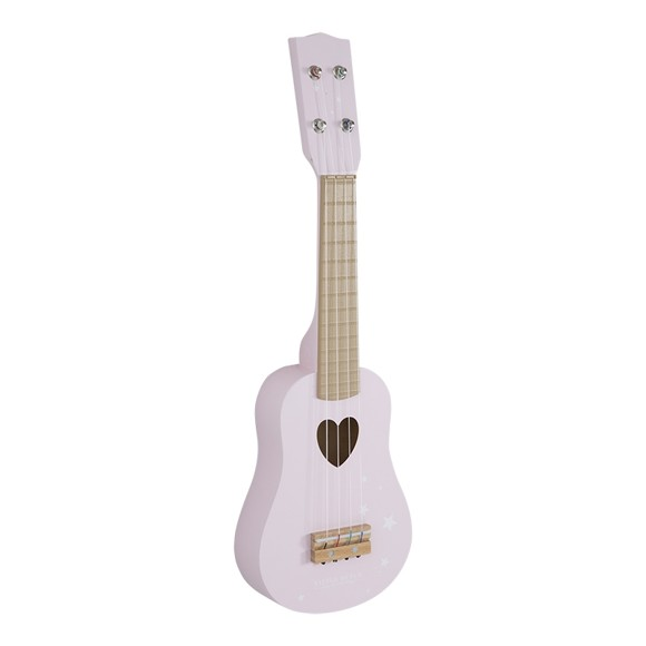 Little Dutch - Guitar, Pink (4408)