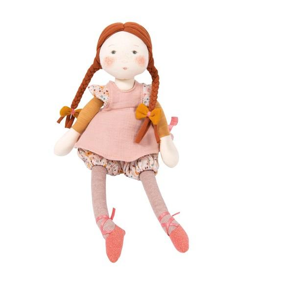 Moulin Roty - French Doll - Fleur, 31 cm