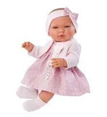 Asi dolls - Maria doll in rose dress with jacket (43 cm)