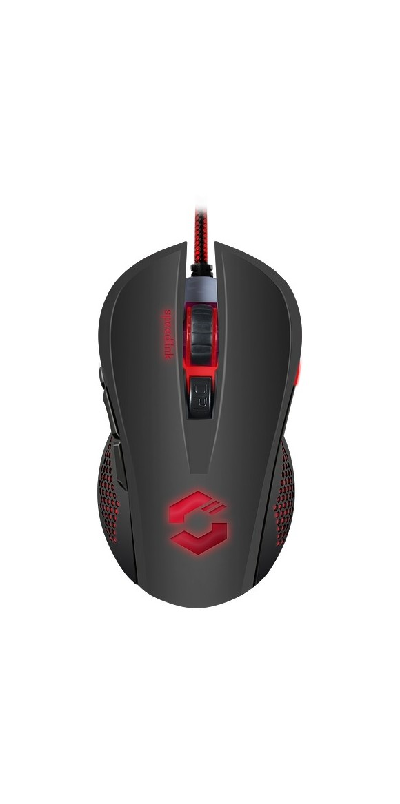 TORN Gaming Mouse (Black/Black)