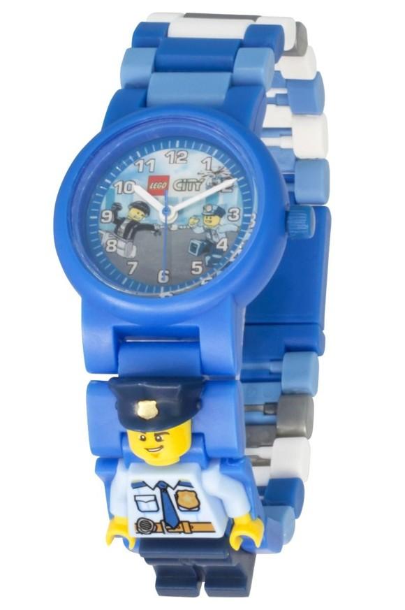 LEGO - Armbåndsur - City Politibetjent