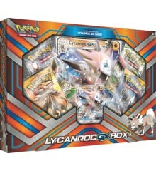 Pokemon - Lycanroc GX Box (Pokemon Kort)