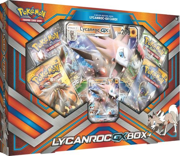 Pokemon - Lycanroc GX Box (Pokemon Kort)