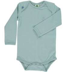 Småfolk - Organic Basic Longsleved Body - Stone Blue