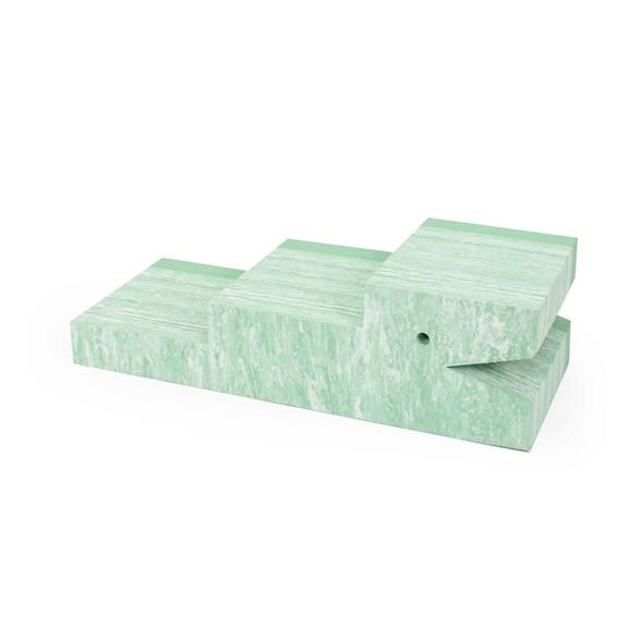 bObles Krokodille - Lys grøn marmor
