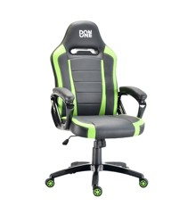 DON ONE - Belmonte Gaming Chair Black/Green