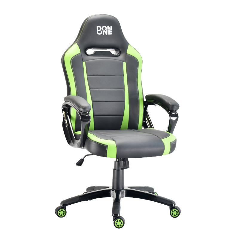 DON ONE - BELMONTE Gaming Chair - Schwarz/Grün