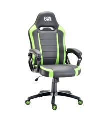 DON ONE - BELMONTE Gaming Chair - Sort/Grønn