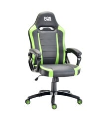 DON ONE - BELMONTE Gaming Chair - Svart/Grön