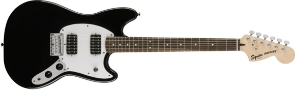 Squier By Fender - Bullet Mustang HH - Electric Guitar (Black)