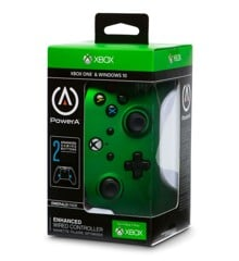PowerA Xbox One Enhanced Wired - Emerald Fade
