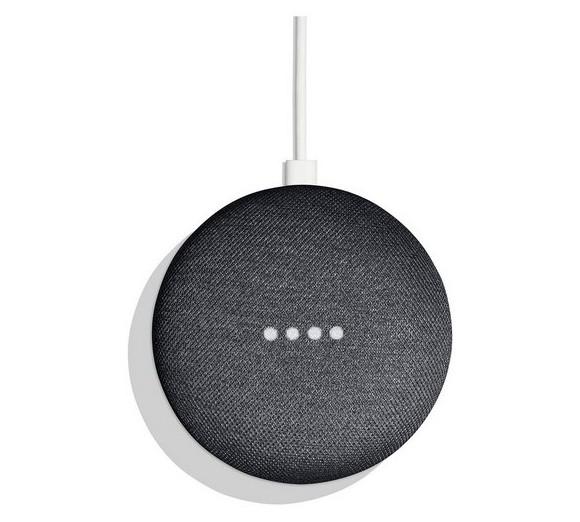 Google Home Mini Højttaler - Charcoal Grå