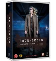 Broen - Sæson 1-4 - DVD