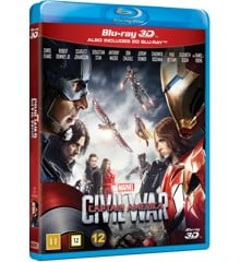 Captain America: Civil war (3D Blu-Ray)
