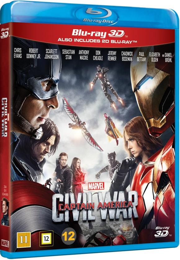 Captain America: Civil war (3D Blu-Ray)