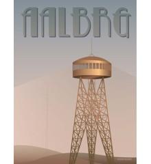 Vissevasse - Aalborg Tower Poster 50 x 70 cm