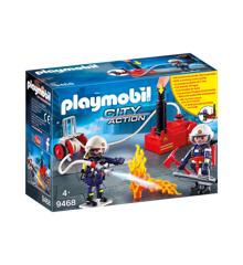 Playmobil - Brandmænd med vandpumpe (9468)