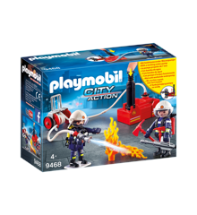 Playmobil - Firefighters with Water Pump (9468)