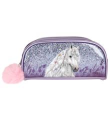 Miss Melody - Pencil Case w/Glitter - Purple (0410774)