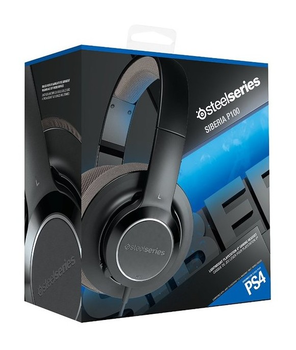 zz SteelSeries Siberia P100 Comfortable Gaming Headset