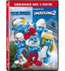 The Smurfs 1+2/Smølferne 1+2 - DVD