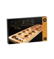 Alga - Kalaha i træ med glaskugler