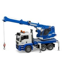 Bruder - MAN TGS Crane truck with light and sound module (BR3770)