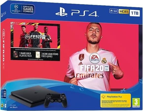 Playstation 4 Slim 1TB (FIFA 20 Bundle) (Nordic)