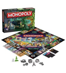 Monopoly - Rick And Morty Version (Engelsk)
