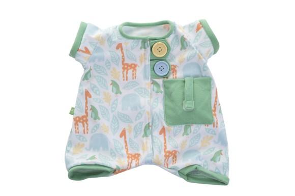 Rubens Barn - Pocket Friends Green Pajamas (120101)