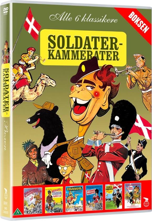 Soldaterkammerater boksen - DVD