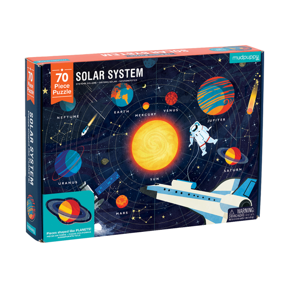 Mudpuppy - Solar System Puzzle, 70 pices
