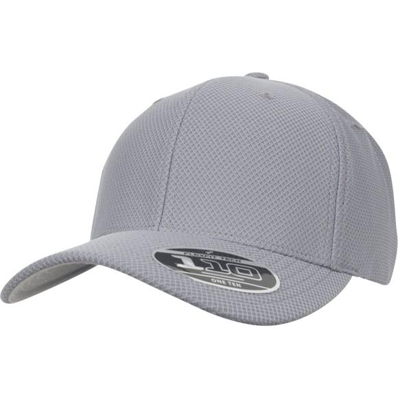 Flexfit Tech 110 Hybrid Cap - grey