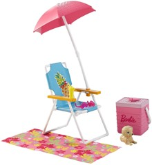 Barbie Outdoor Accessory Picnic Set Doll Children Toy Play