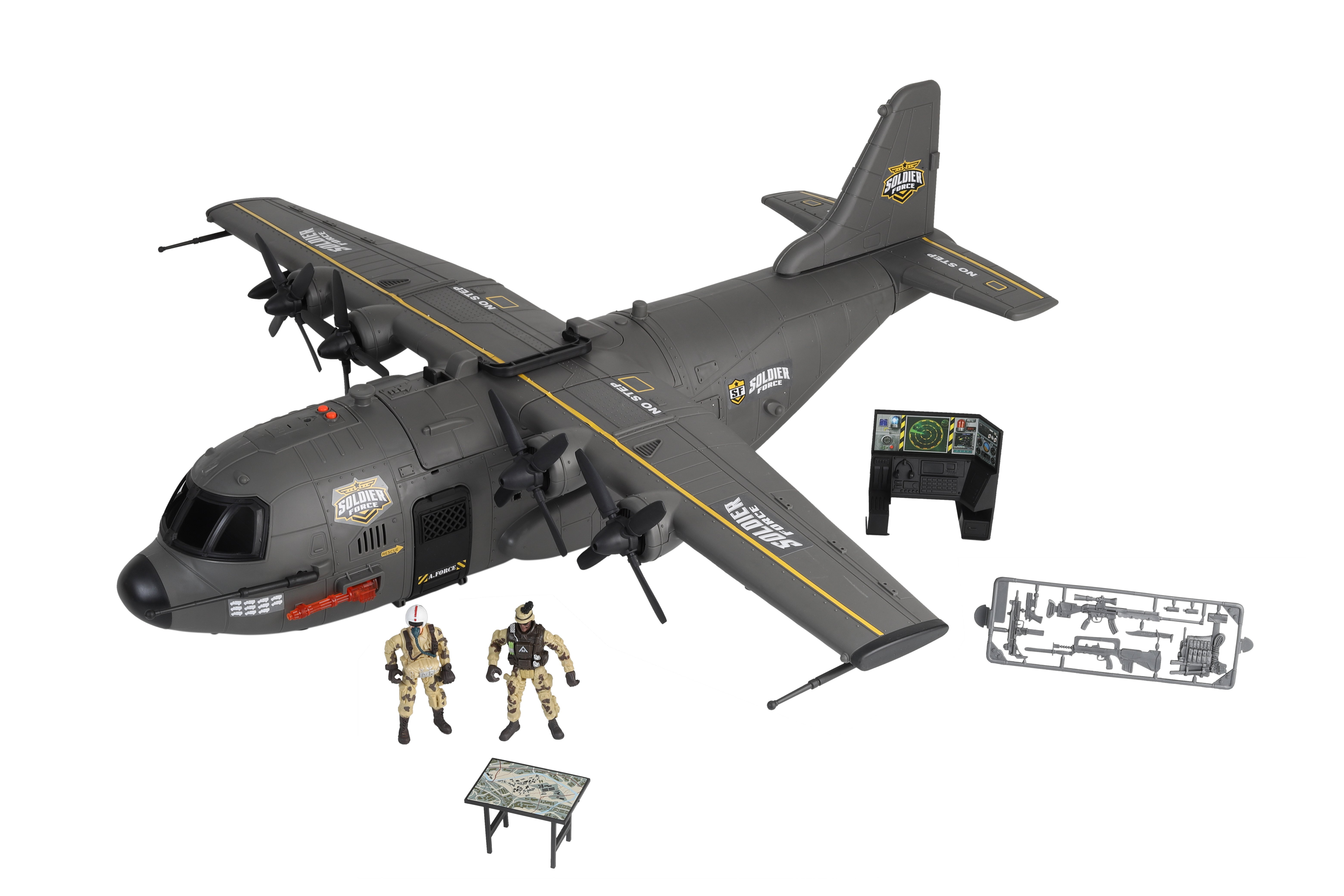 Soldier Force - Hercules Cargo Plane Playset (545069)