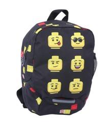 LEGO -  Kindergarten Backpack - Faces/ Black (10030-2007)