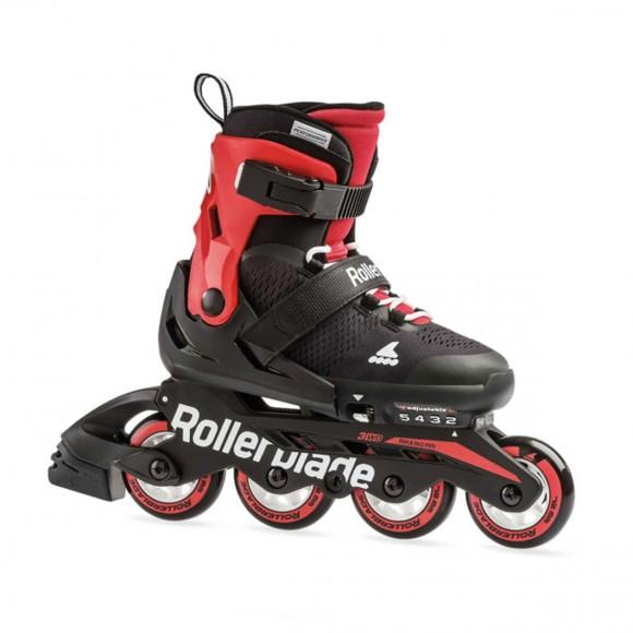 Rollerblade - Microblade Inliner Rulleskøjter - Sort/Rød (28-32)