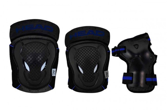 Head - Safty Set - Black/Blue - (PO.7 BLUE S)